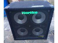 Hartke 410XL 4x10 400 watt bass cab cabinet