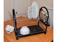 2-tier dish drainer