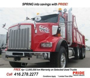 2018 Kenworth T800 3 Months No Payments*