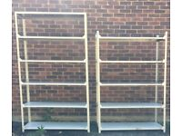 Metal shelving / racking, several sections available. Richmond.