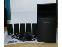 Bose AcoustiMass 10 Series III Black 5.1 Home Theatre Speaker System
