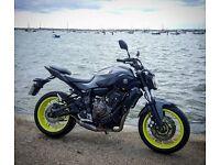 Yamaha MT07 - ABS 2016 - Night Fluo - Akrapovic Exhaust