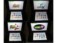 Nintendo 3DS XL Console BLUE with 70 games bundle