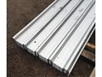 GALVANISED ROOF SHEETS ~ BOX PROFILE ~ NEW