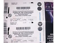 2 x Flight Of The Conchords Platinum Tickets, Manchester Fri 23rd March