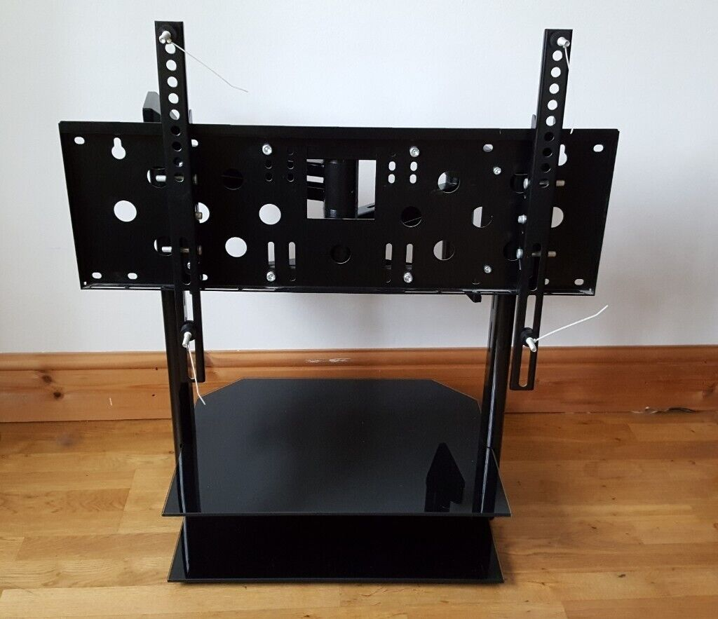 Tv Mount Corner Wall Bracket With Floating Shelves Up To 50 Screen Collect Market Bosworth In Nuneaton Warwickshire Gumtree