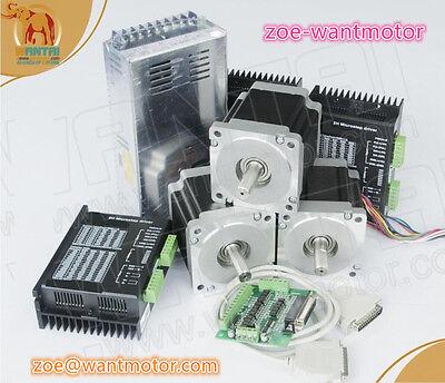 Us Free Wantai 3axis Stepper Motor Nema23 57bygh627 270oz-in 3adriver 4.2a 50v