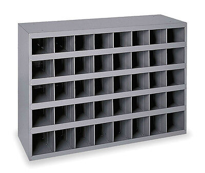 Metal 40 Compartment Slot Hole Storage Bin Cabinet For Nuts Bolts 359
