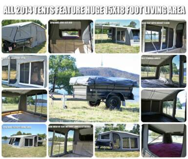 2010 camper trailer in great condition