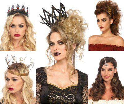 LAG Leg Avenue Krone Königin Einhorn Flügel Diadem Kostüm Accessoire (Kostüm Krone Diadem)