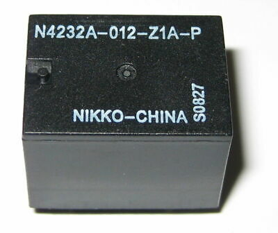 Nikko 12v 20 Amp Spdt Relay - Compact Pc Mount 12 V Relay - No Nc - 5 Pin