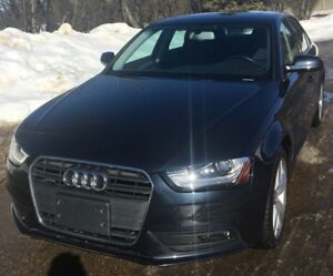 Midnight Navy 2014 Audi A4 2.0T quattro Technik Sedan Quattro