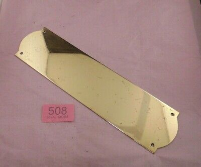 Brass  Door Finger Plate 508
