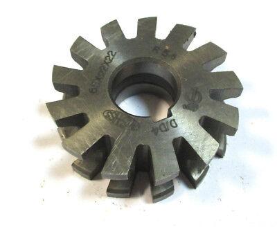 Half-circle Cutter Form Mill Hss Concave 65 X22x22 R55 Von Wmw Pws H22542