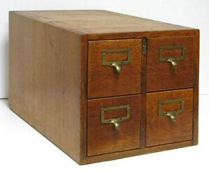 Library Card Catalog: Cabinets & Cupboards | eBay