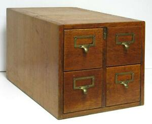 Library Card Catalog File