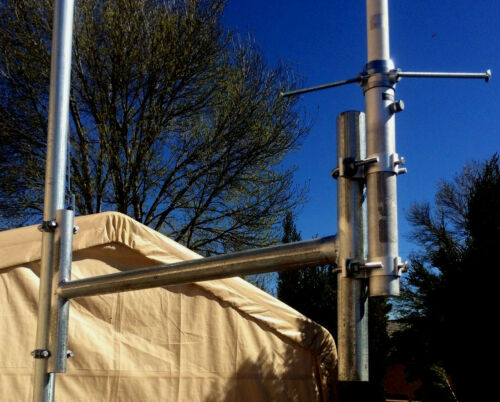 --Antenna side arm Mount--HAN radio .  Mount on Any Tower 1.5 clamp.Galvanized.