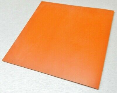 Silicone Rubber Sheet High Temp Solid Redorange Commercial Grade 18x18 X18