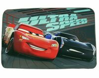 ABC Disney Tappeto Cars Speed rug Nero//Rosso 133 x 133 cm