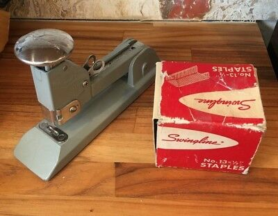 Swingline Heavy Duty Stapler No.13 With 5000 No. 13 12 Staples All Made In Usa