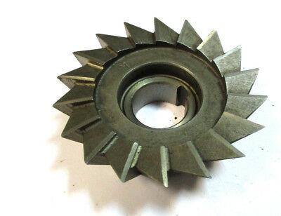Angle Milling Cutter Hss 80 X25x22 60 Type H Wmw Pws H22574