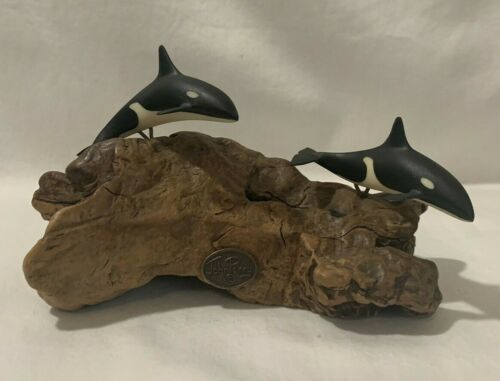 John Perry Double Whale Sculpture