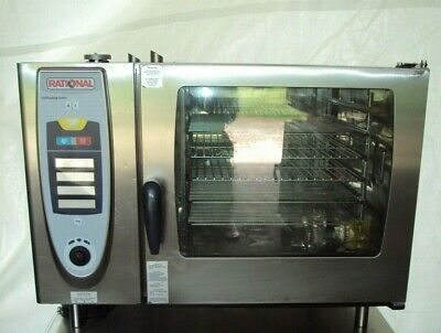 Rational Scg62c Gas Steamer Combitherm Combi Cooking Convection Oven