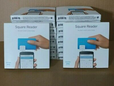 New Square Reader Magstripe - Credit Card Reader For Mobile Device Lot Of 20
