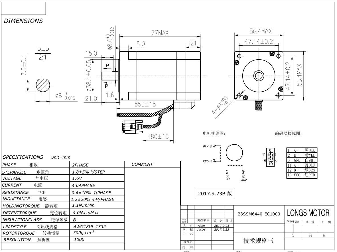 Free Ship 4axis NEMA23 Closed Loop Motor kits 2.9N.M 4A 425oz.in/&Servo Driver
