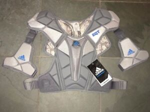 NEW Adidas Berserker Lacrosse Shoulder Pads Large $120