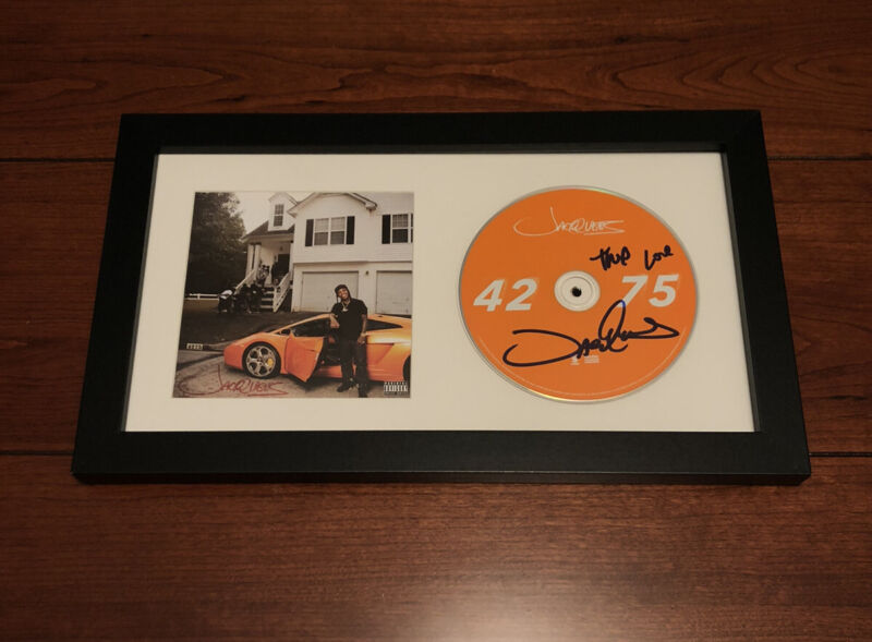 JACQUEES SIGNED 4275 CD ALBUM AUTOGRAPH FRAMED W/ PROOF (BIRDMAN KING OF R&B)