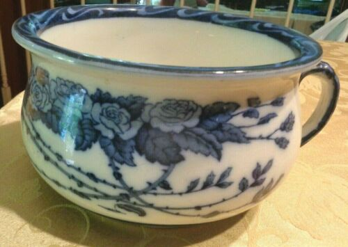 Antique Vtg Bed Chamber Pot Booth