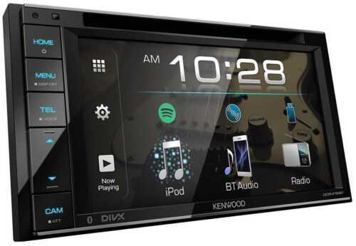 "2019 MODEL KENWOOD DDX-419BT CAR DOUBLE DIN 6.2"" TOUCH/DVD/CD/BLUETOOTH/SPOTIFY"