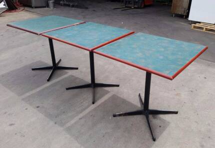 Square Wooden Tables for Cafe / Restaurant (8 Available) Mentone Kingston Area Preview