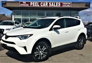 2017 Toyota RAV4 LE|ALLOYS|REARVIEW|AWD
