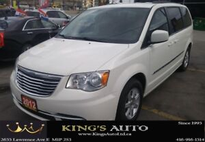 2012 Chrysler Town & Country TOURING, HEATED SEATS, DVD PACKAGE