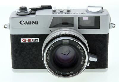 Canon G III QL17 35mm Rangefinder Camera With 40mm F1.7 Lens - $117.50