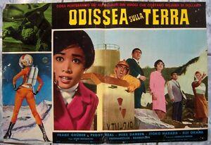 fotobusta-ODISSEA-SULLA-TERRA-Uchu-saikaiju-guirara-X-from-Outer-Space-IT1967