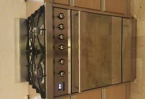 Smeg Gas 600mm Oven and Cooktop Greenwich Lane Cove Area Preview