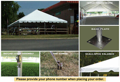 30x30 Sectional Classic Frame Tent New White Event Party Tent for