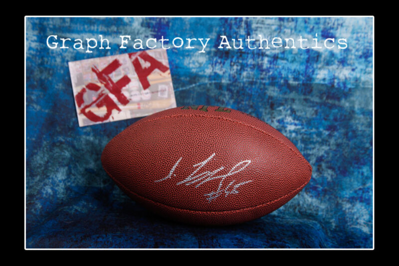 **GFA Minnesota Vikings * SHARRIF FLOYD * Signed NFL Football COA**