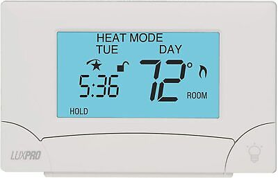Lux Pro Psp711ts Smart Temp Electronic Touch Screen Thermostat