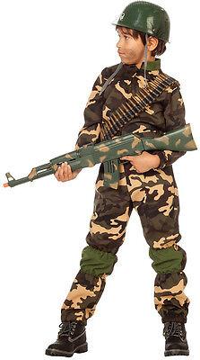 Commander Kid Soldat Kinderkostüm NEU - Jungen Karneval Fasching Verkleidung Kos