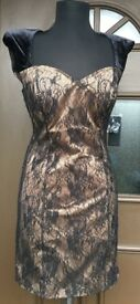 GUESS Lovely Women's Dress Fashion / Chic Lace Black Nude New USA