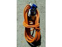 16a 240v hook up extension cable 10m