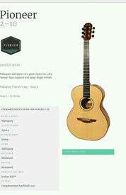 Jumbo Avalon acoustic guitar