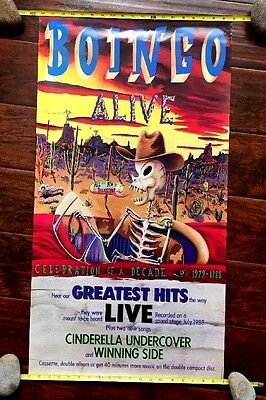 """Oingo Boingo """"Alive"""" Greatest Hits Concert Poster - Royal Oak Music Theater"""