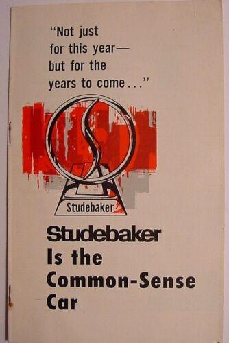 Studebaker-1963 Promotional Brochure-Common Sense Car
