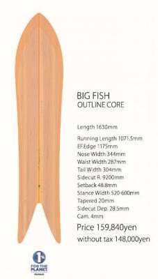 GENTEMSTICK Genten stick 2017 - 2018 MODEL BIG FISH OUTLINE CORE powder