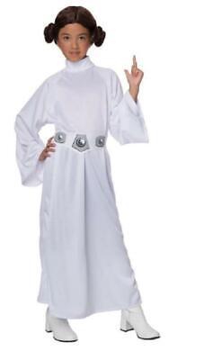 Star Wars ~ PRINCESS LEIA ~ Girl's COSTUME ~ S Small (4-6) ~ NEW - Girl Princess Leia Costume